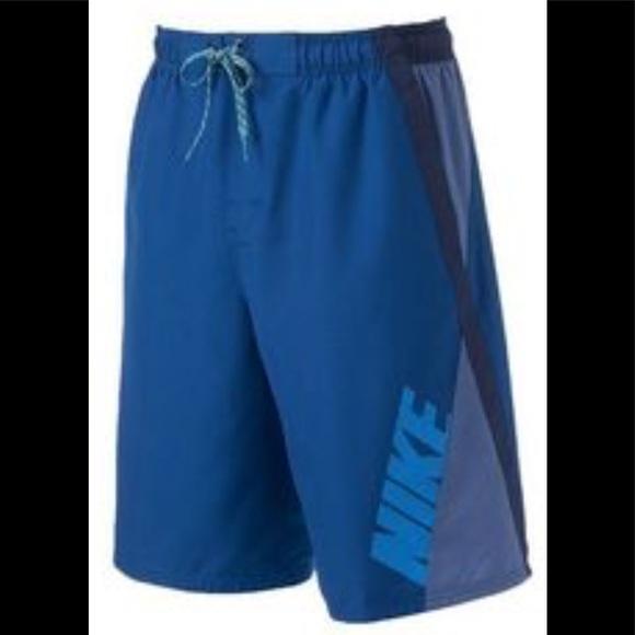 bc4e566c579c5 Nike Swim | Nwt Volley Trunks Shorts Blue | Poshmark